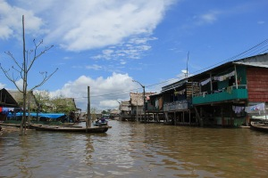 floating shantytown of Belen